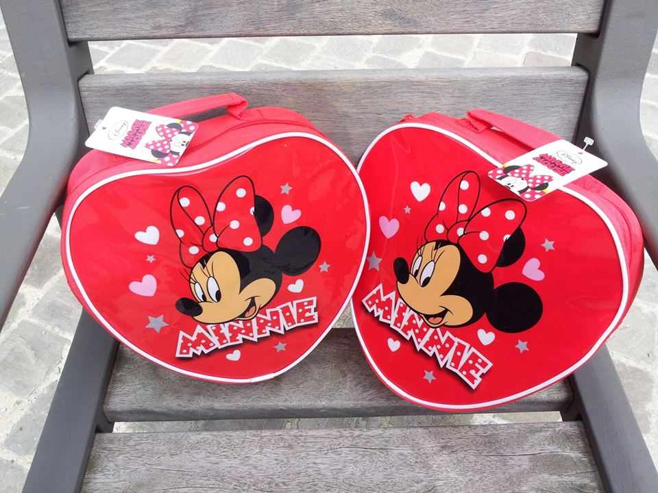 Hartvormige Minnie Mouse Tas